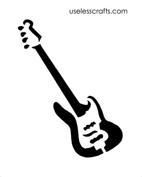 guitar pattern library download free guitar stencil download stencil guitar