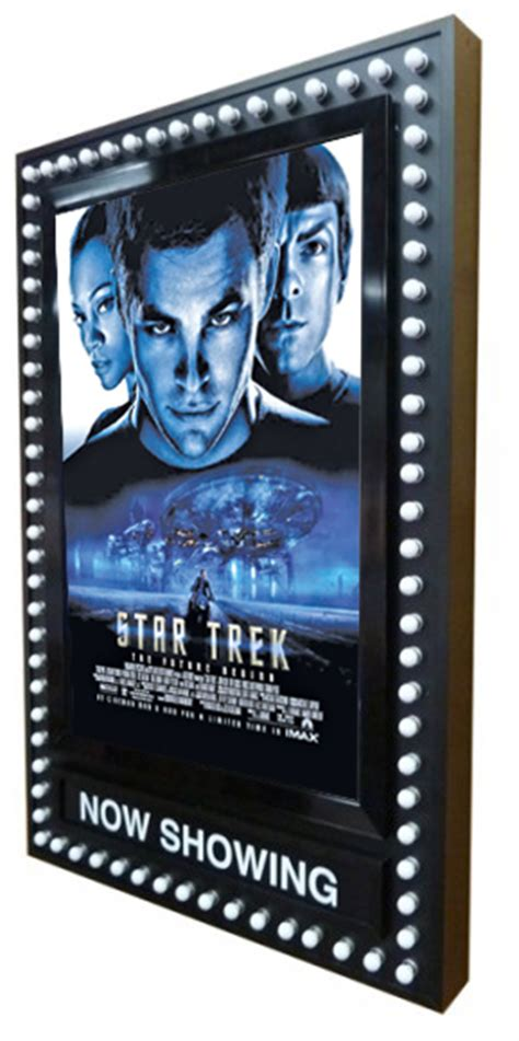 broadway poster marquee frame