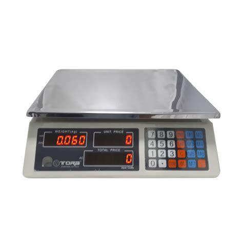 Timbangan Digital Buah jual tora timbangan digital buah laundry 30 kg harga kualitas terjamin blibli