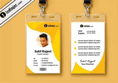 id card design template cdr letterhead design in coreldraw also transitionsfv