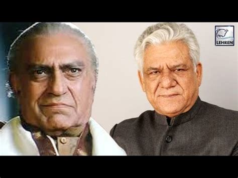 actor om puri brothers when amrish puri was replaced by om puri youtube