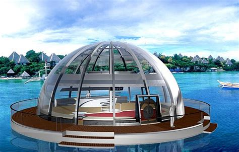 houseboat ocean eco homes solar powered houseboat can survive the