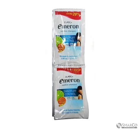Shoo Emeron 270 Ml detil produk emeron shoo dandruff 12x6 ml 1015060020712 8998866103091 superstore the