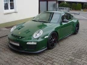 Porsche Gt Green Spotlight Racing Green Porsche 997 Gt3 Rs