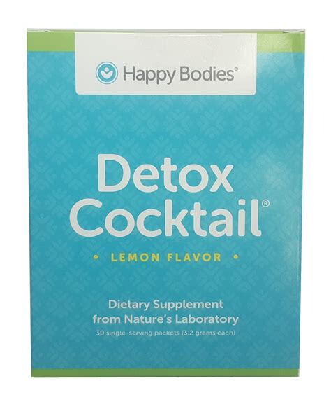 Dr Sherry Rogers Pre Made Detox Cocktail by Detox Cocktail Mix 30 Individual Serving Packets Lemon