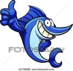 clipart pesce clipart cartone animato pesce spada k21706280 cerca