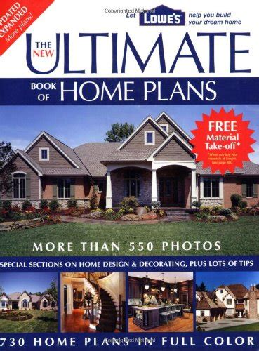good home design books discount the new ultimate book of home plans lowe s