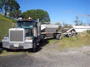 1996 peterbilt 379 semi with 2001 gallegos trailer for