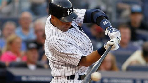 derek jeter swing analysis derek jeter how far can he climb up the all time hits