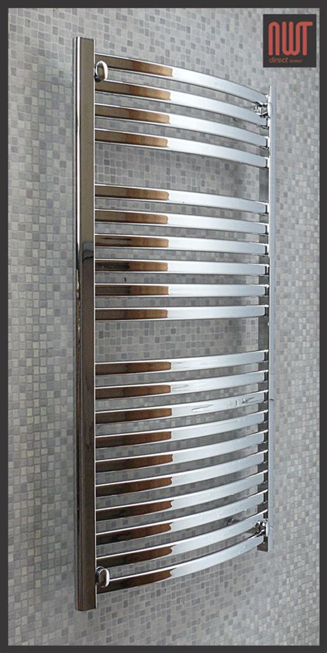 Radiator Towel Rack 600mm W X 1100mm H Quot Ellipse Quot Chrome Heated Towel Rail