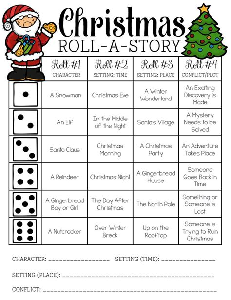 images of christmas articles christmas roll a story freebie christmas language arts