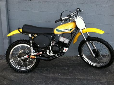rent motocross bike uk 1973 suzuki tm125 vintage dirt motocross