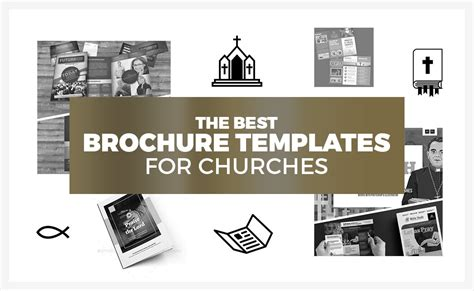 18 Church Brochure Templates For Modern Churches Designercandies Church Brochure Templates