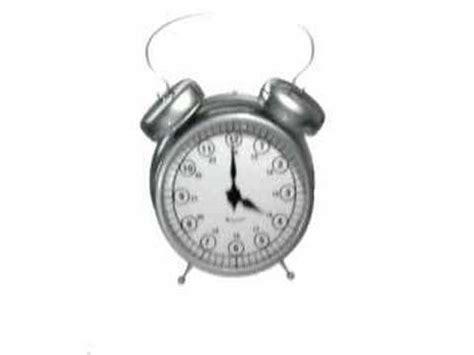 ringing alarm clock