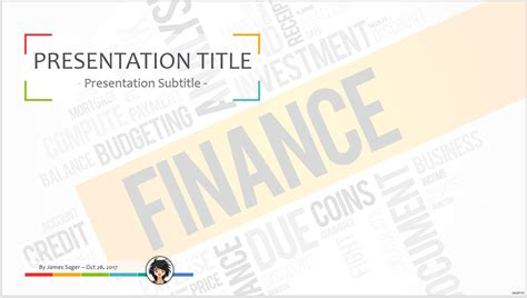 Free Financial Services Powerpoint Template 8416 Sagefox Powerpoint Templates Powerpoint Financial Templates