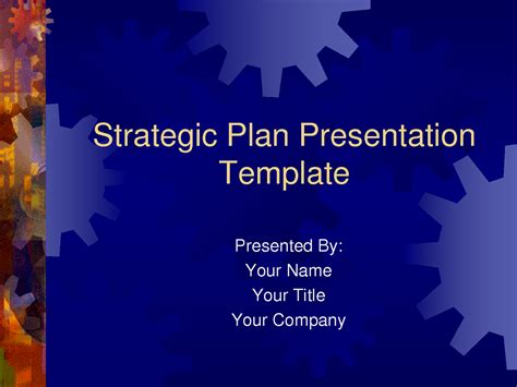 it strategic plan template powerpoint strategic plan powerpoint templates business plan