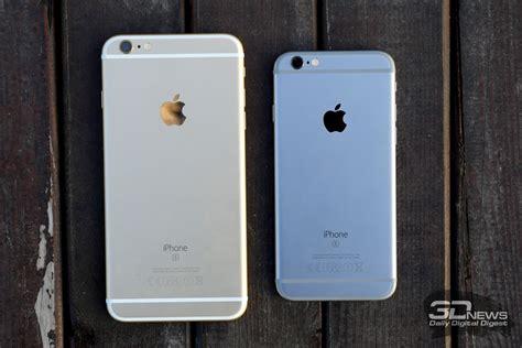 обзор apple iphone 6s и 6s plus обновление главных смартфонов современности смартфоны