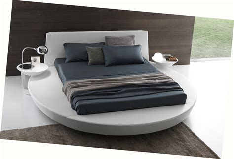 round platform bed presotto zero sunrise round platform bed low profile