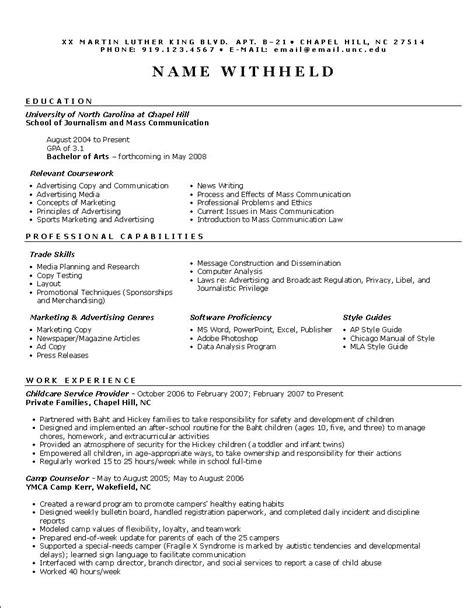 Functional Resume Example: Resume Format Help