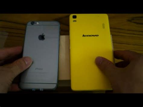 iphone themes for lenovo k3 note lenovo k3 note vs apple iphone 6 side by side