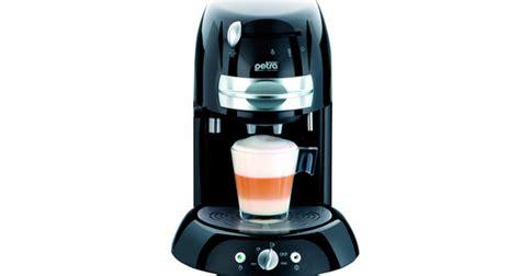 petra electric km  im test kaffeepadmaschinen vergleich