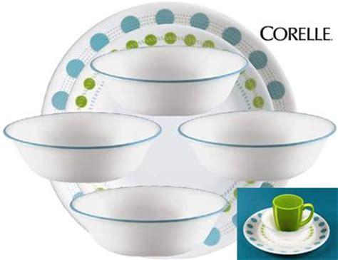 corelle south beach pattern 16pc corelle south beach dinnerware set w lunch plates