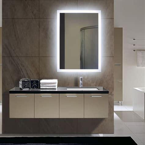 Rectangular Backlit Small Led Mirror 17954991 Small Illuminated Bathroom Mirrors