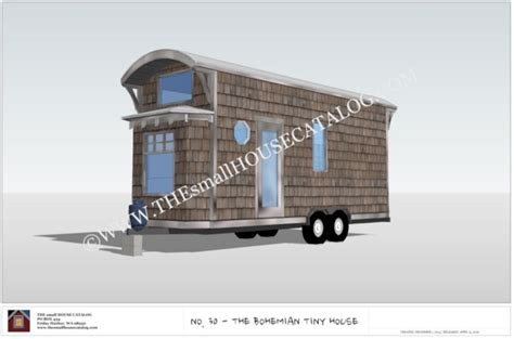tiny house plans free free tiny house plans the bohemian tiny house on wheels