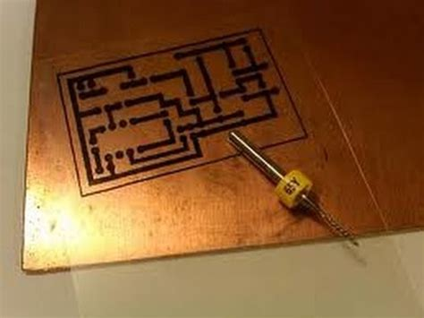 pcb at home how to make a single layer pcb