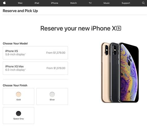apple stores  canada accepting iphone xs  iphone xs