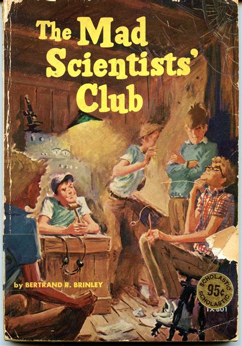 thrift store find the mad scientists club the 10