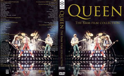 queen film collection queen the 8mm film collection 1977 1982 dvd rare