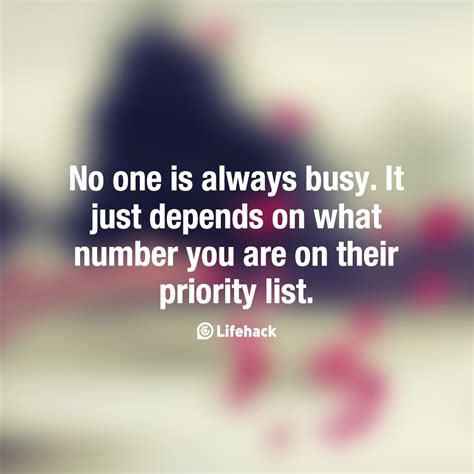 Are You In The List by 62 Best Priority Quotes And Sayings