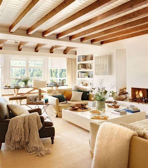 decorar casa madera decorar una vivienda con techos de madera techos de