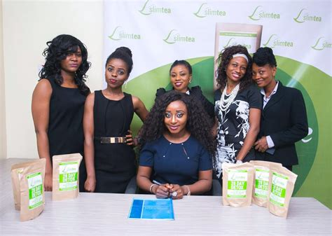 Slim Tea Nigeria 28 Days Detox by Ini Edo Becomes Brand Ambassador For Slimtea