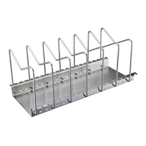Stainless Steel Pot And Pan Rack Kes Stainless Steel Dish Rack Kitchen Pot Pan Lid Cutting