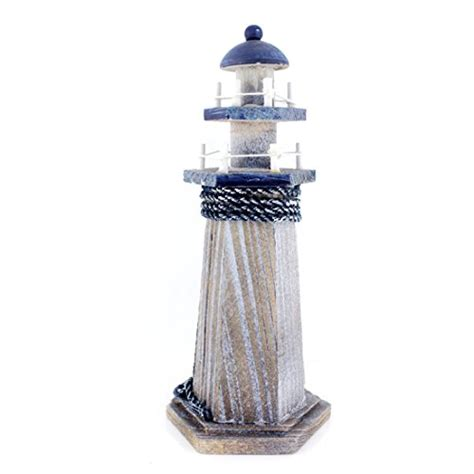 starfish wooden lighthouse 10 quot high nautical themed rooms