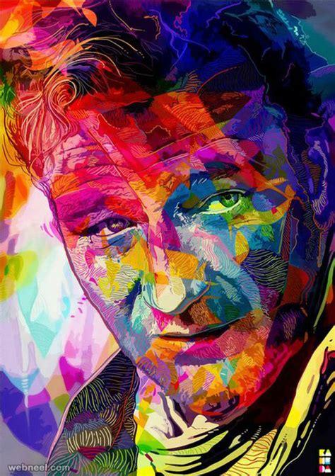 pop art a colourful colourful art