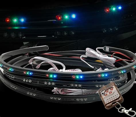 lada led multicolor 1 set flexi multicolor diodov 233 tuning car cz