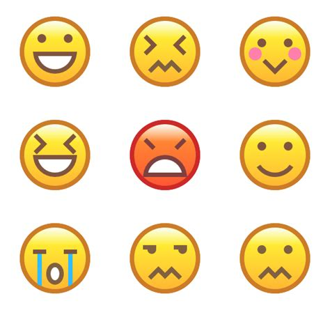 chagne emoticon emotion icons 802 free vector icons