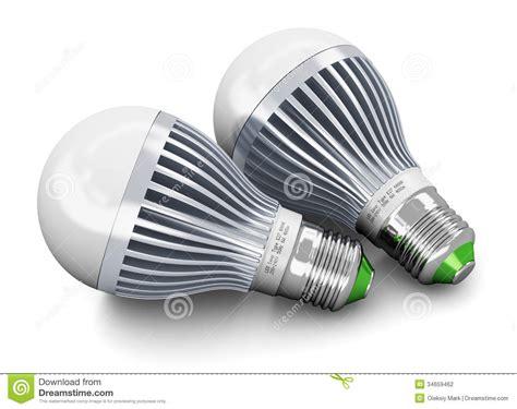 Energy Saving House Plans Led Lamps Stock Photography Image 34659462
