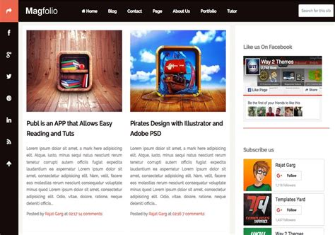 entertainment templates for blogger magfolio blogger template 2014 free download