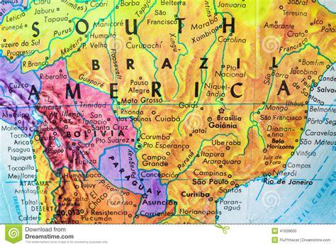 america map up south america globe map up stock photo image 41628600