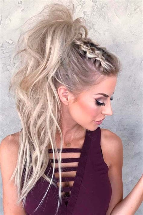 Hair Styles For Going Out | best 25 ponytail hairstyles ideas on pinterest braided