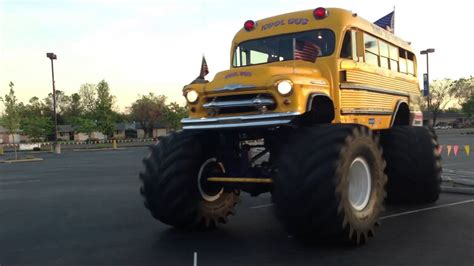 monster truck bus videos monster truck bus youtube
