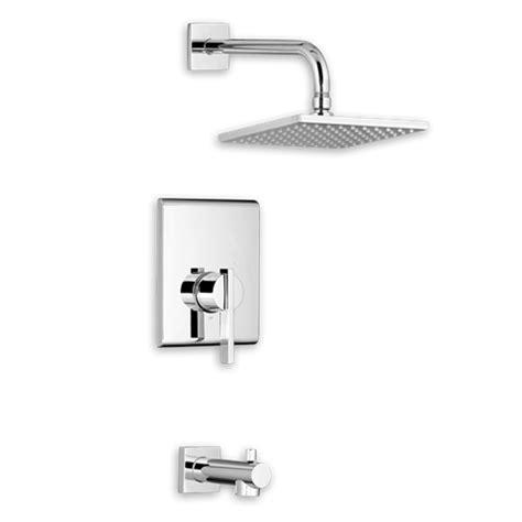 american standard bathroom american standard times square bath shower trim kit square