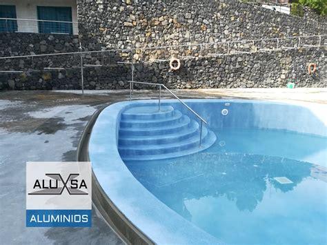 barandilla piscina aluminio barandilla de acero inoxidable para piscina en tenerife