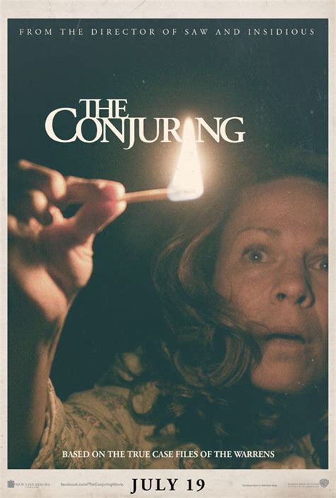 film horor james wan official poster trailer for james wan s the conjuring