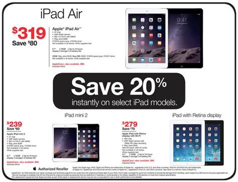 Radioshack Gift Card Discount - staples and radio shack to offer modest black friday discounts on ipads ipods and