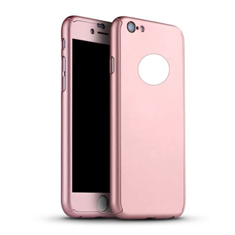 Casing 360 Iphone 6 6 Hardcase Free Tempered Glass 360 176 cover with tempered glass screen protector for iphone 6 6s 4 7 ebay